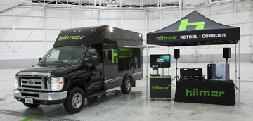 hilmor™ Coast to Coast Product Demonstration and Testing Stations.